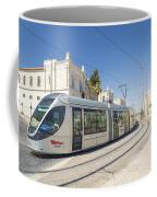 Modern Tram In Central Jerusalem Israel Coffee Mug