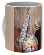 Monet's The Cradle -- Camille With Artist's Son Jean Coffee Mug