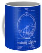 Monocycle Patent 1894 - Blue Coffee Mug