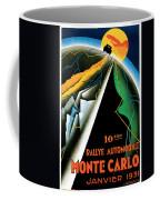 Monte Carlo Rallye Automobile Coffee Mug