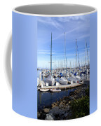 Monterey Harbor California Coffee Mug