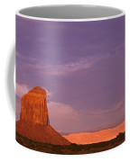 Monument Valley Red Rock Formations At Sunrise Coffee Mug