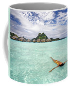 Moorea Woman Floating Coffee Mug