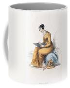 Morning Dress, Fashion Plate Coffee Mug
