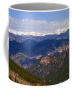 Mount Evans And Continental Divide Coffee Mug