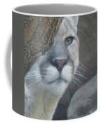 Mountain Lion Painterly Coffee Mug