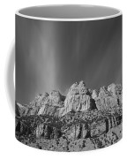 Mountain Peaks And Shimmering Sky Coffee Mug