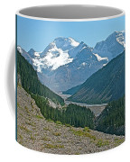 Mountain Peaks From Icefields Parkway-alberta Coffee Mug