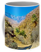 Mountain Peaks From Lower Palm Canyon Trail In Indian Canyons Near Palm Springs-california Coffee Mug
