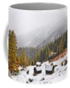 Mountain With Snow Coffee Mug