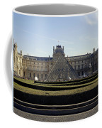Musee Du Louvre In Paris France Coffee Mug
