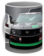 Mustang Race Car Coffee Mug