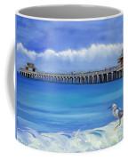 Naples Pier Naples Florida Coffee Mug