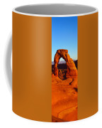 Natural Arch In A Desert, Delicate Coffee Mug