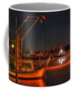 Night In The Harbor Coffee Mug