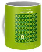 No120 My Green Lantern Minimal Movie Poster Coffee Mug by Chungkong Art