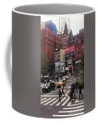Nyc Street Scene Coffee Mug