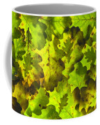 Oak Leaf Background Coffee Mug