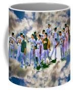 Oakland A's High Five Coffee Mug