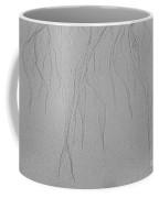 Ocean Sand Art Design From Top Coffee Mug