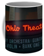 Ohio Theater Marquee Theater Sign Coffee Mug