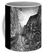 Old Bicycles On A Sunday Morning Coffee Mug