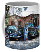 Old Cars On Route 66 Coffee Mug
