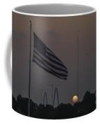 Old Glory Sunset Coffee Mug