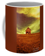 Old House On The Hill Coffee Mug by Edward Fielding
