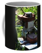 Old Junky Lawn Mower Coffee Mug