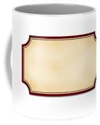 Old Label Coffee Mug