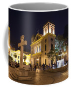Old Portuguese Colonial Church In Macau Macao China Coffee Mug
