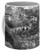 Old Stirling Bridge And Houses As Visible From Stirling Castle Coffee Mug