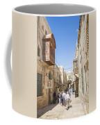 Old Town Street In Jerusalem Israel Coffee Mug