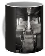 Old Train Seats Coffee Mug