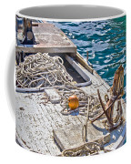 Old Wooden Fishing Boat Detail Coffee Mug