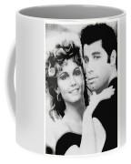 Olivia Newton John And John Travolta In Grease Collage Coffee Mug