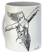 On The Beach Sketch Coffee Mug
