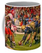On The Goal Line - Notre Dame Vs Utah Coffee Mug