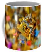 One Life One Love Padlock Coffee Mug
