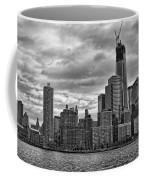 One World Trade Center Bw Coffee Mug