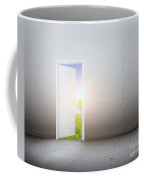 Open Door To A New World Coffee Mug