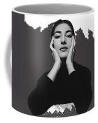 Opera Singer Maria Callas  Cecil Beaton Photo No Date-2010 Coffee Mug