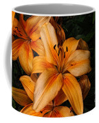 Orange Lilies Coffee Mug