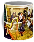 Orchestra Tuning Up In The Pit In Hermitage Theatre In Saint Petersburg-russia  Coffee Mug
