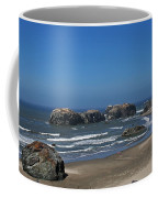 Oregon Beach And Rocks Coffee Mug