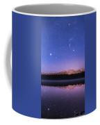 Orion Over Lake Annette Coffee Mug
