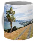Otago Peninsula Coastal Landscape Dunedin Nz Coffee Mug