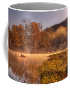 Paddling In Mist Coffee Mug