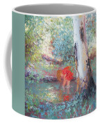 Paddling In The Creek Coffee Mug